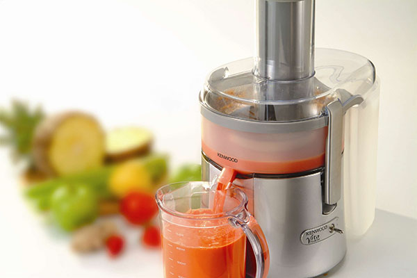 juice from a juicer