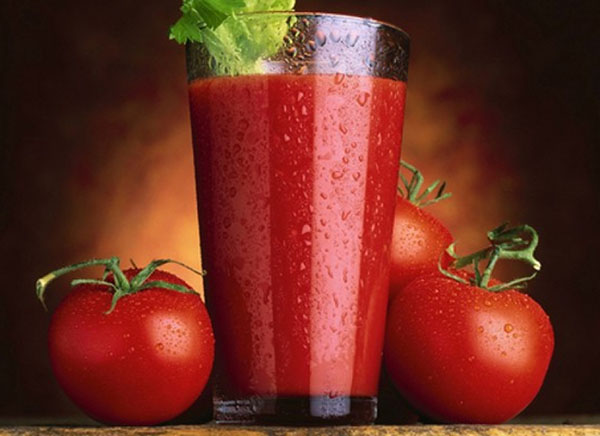 useful juice from a tomato